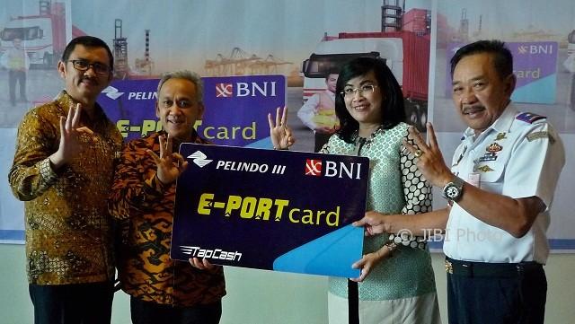 Pelindo Luncurkan E-Port Bersama BNI