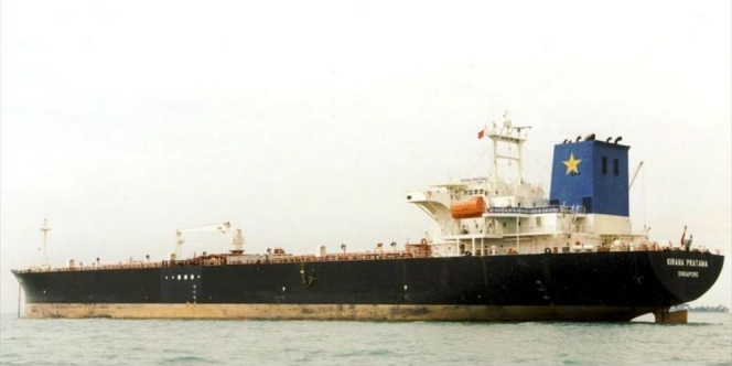 Kapal Tanker Indonesia Mengalami Kecelakaan Diperairan Singapura