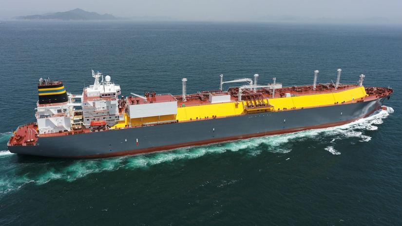 Kapal Berbahan Bakar LNG Terbesar di Dunia Akan Diperkenalkan
