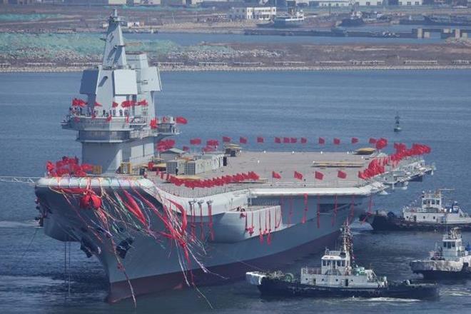 Kapal Pintar Pertama Buatan China Diluncurkan