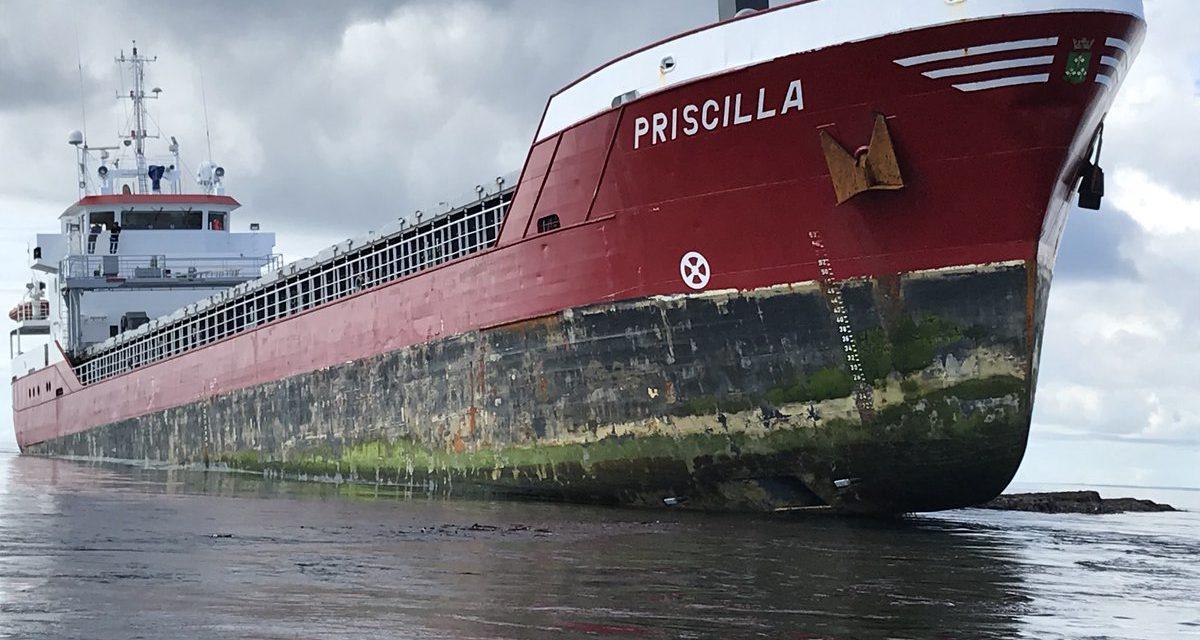 Penyelamatan Minyak Gas Laut MV Priscilla Berjalan Baik